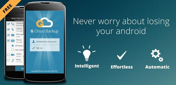 This G Cloud Backup Allows You To Your Complete Android Phones Data