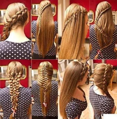150 peinados sencillos para chicas con poco tiempo Foto  - Peinados Con Trenzas Sencillos