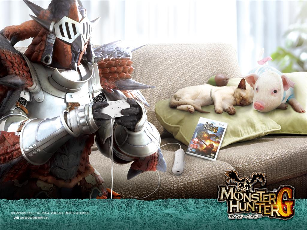 Monster Hunter HD & Widescreen Wallpaper 0.1593633611264