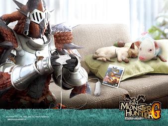 #13 Monster Hunter Wallpaper