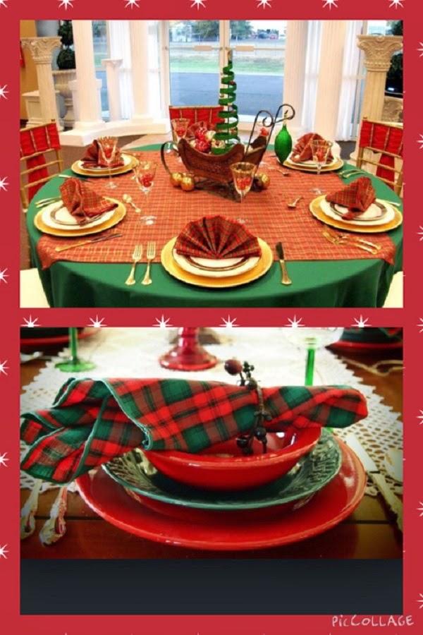 Decoração de Mesas de Natal