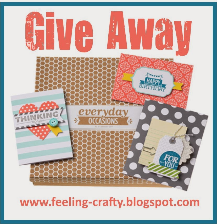Amazing UK Give Away - Enter here and you could win an Everyday Occasions Card Kit worth £26.95
