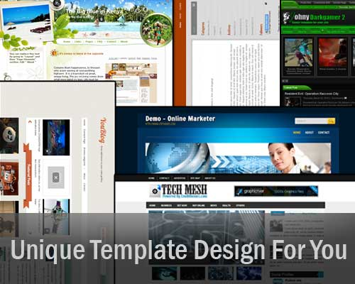 Design/Customize Bloger Template Templates And Convert Wordpress Themes To Blogger