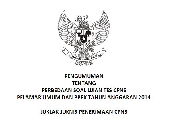 Perbedaan Soal Tes CPNS Umum dan PPPK
