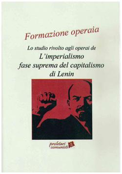 Formazione Operaia - Su Lenin e l'imperialismo