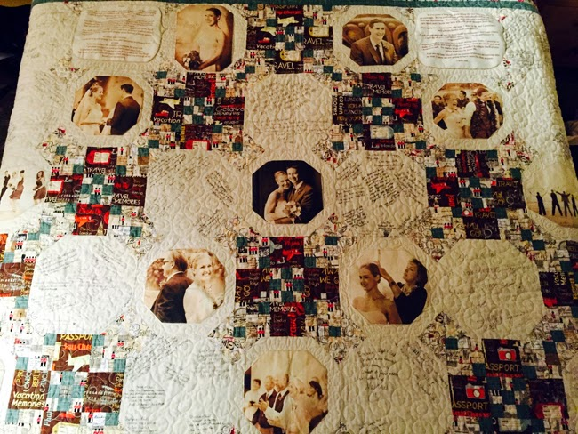 Personalized Touches Quilt Guestbook San Diego Style Weddings