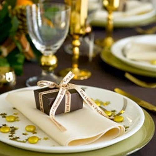 mesa para la cena de ao nuevo
