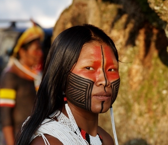 White Wolf : Sacred Meaning of Indigenous Face Paints: 22 ...