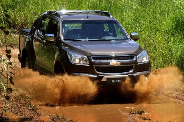 novo Chevrolet S10 2014 frente 1