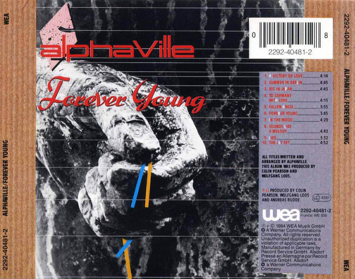 Alphaville Forever Young Por Siempre Joven