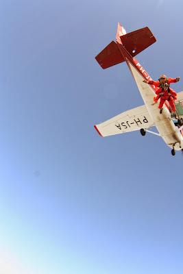 St. Peter-Ording: Fotos eines Tandem-Fallschirmabsprunges über dem ordinger Strand 14