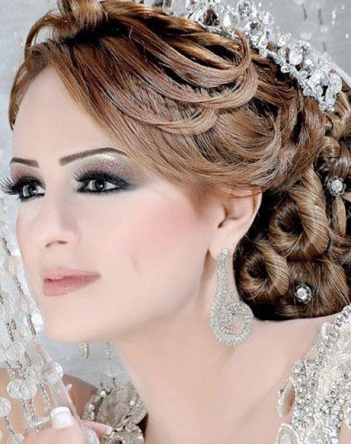 coiffure mariée algérienne