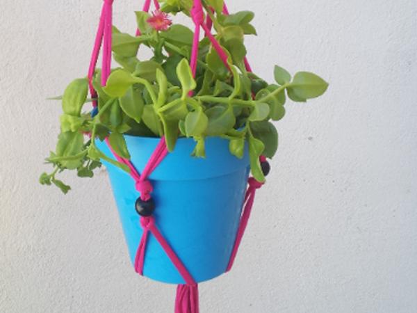 manualidades-colgante-plantas-trapillo