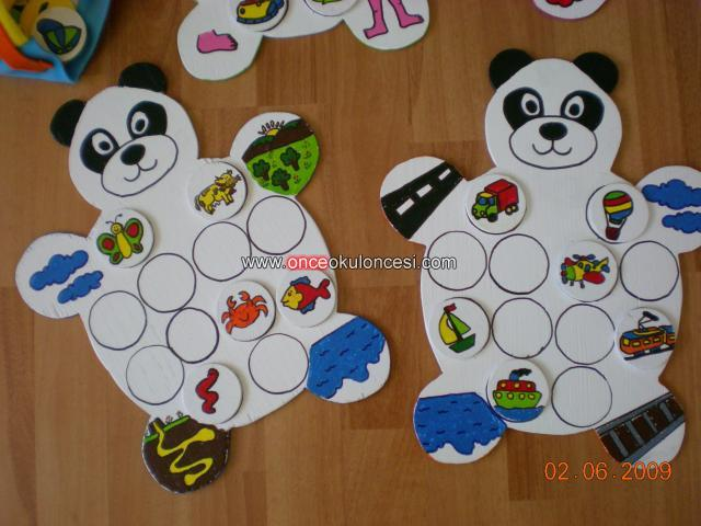 Panda - müzik aletleri = klavyeliler, telliler, vurmalılar