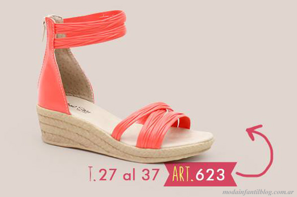 zapatos para niñas new star 2014