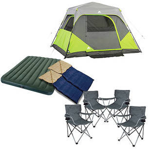 Ozark Trail Instant Cabin Tent With Private Room Review