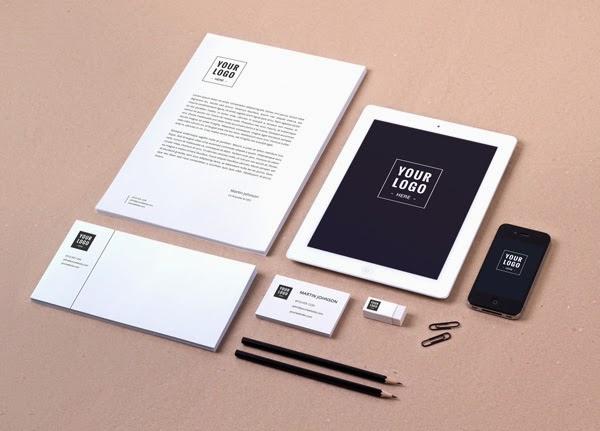 Les Ressources Web du Lundi by Iscomigoo Webdesign: Pack d'identité de marque #02