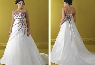 fotos de modelos de vestidos de casamento para gordinhas