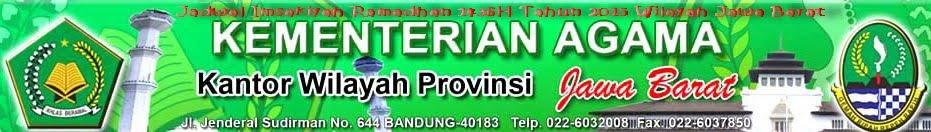 Jadwal Imsakiyah Ramadhan 1436H Tahun 2015 Wilayah Jawa Barat