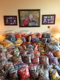 Mattie Miracle 2nd Annual Post-Halloween Candy Drive - AN 1000 POUND SUCCESS!!!