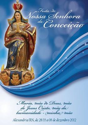 Clique na Imagem para ver a programação completa da Festa 2012