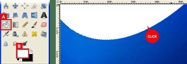 波型のグラデーションを作る⑦