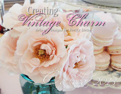 Featured in Creating Vintage Charms 2013 Calender
