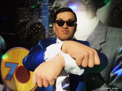Psy Museu de Cera de Gramado