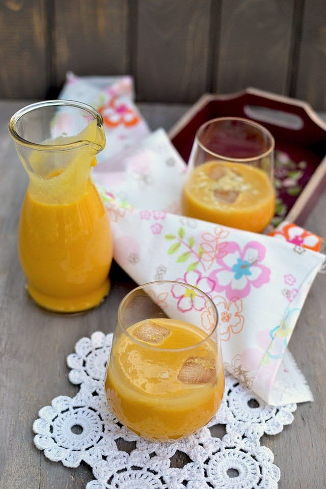 Mango Badam Smoothie