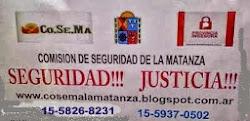 PEDIMOS JUSTICIA Y SEGURIDAD!!!
