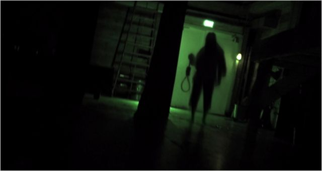 "El fantasma de la película ""La Horca"""