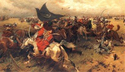 Panglima tentera Islam, Tariq Ziyad yang megetuai 12 000 tentera Islam berdepan dengan tentera kuffar seramai 90 000 yang diketuai sendiri oleh Raja Rhoderic.