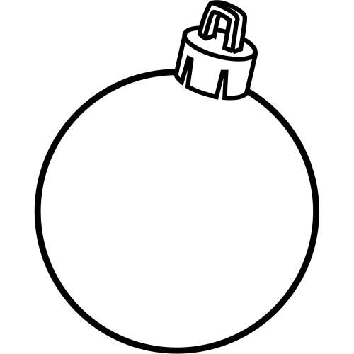 Recursos para infantil: Plantillas para decorar bolas de Navidad