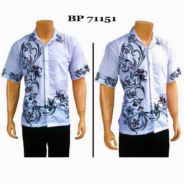 Baju Hem Batik Pria BP71151