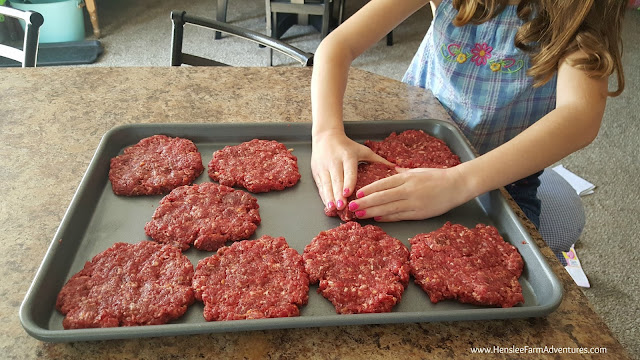 Making Hamburger Patties