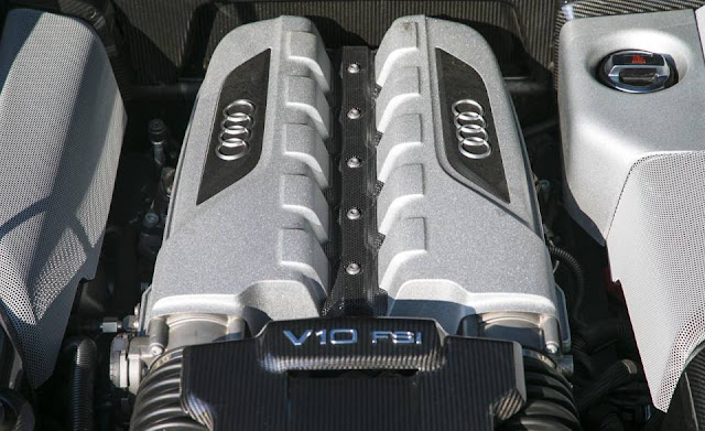 2014 Audi R8 Engine V10 HD wallpapers