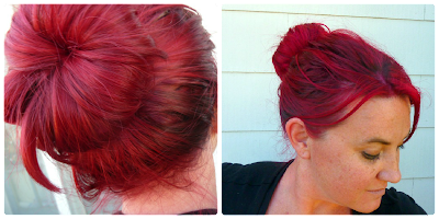 K Michelle Red Hair Bun Crochet Dynamite: November 2012