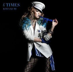 Kumi Koda - 4 times [CD] | Single art