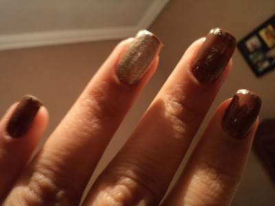Unhas de chocolate