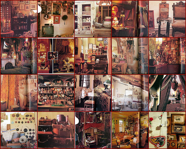 These photos above are from my favorite interior design book of all time, INTERIOR  ALCHEMY: SECRETS TO CREATING EXPRESSIVE AMBIENCE by Rebecca Purcell.