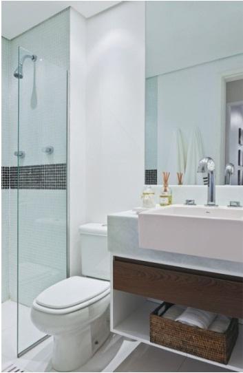 Marcenaria Personalizada Você Também Pode Ter Banheiro Pequeno Dicas de Deco -> Nichos Externos Banheiro