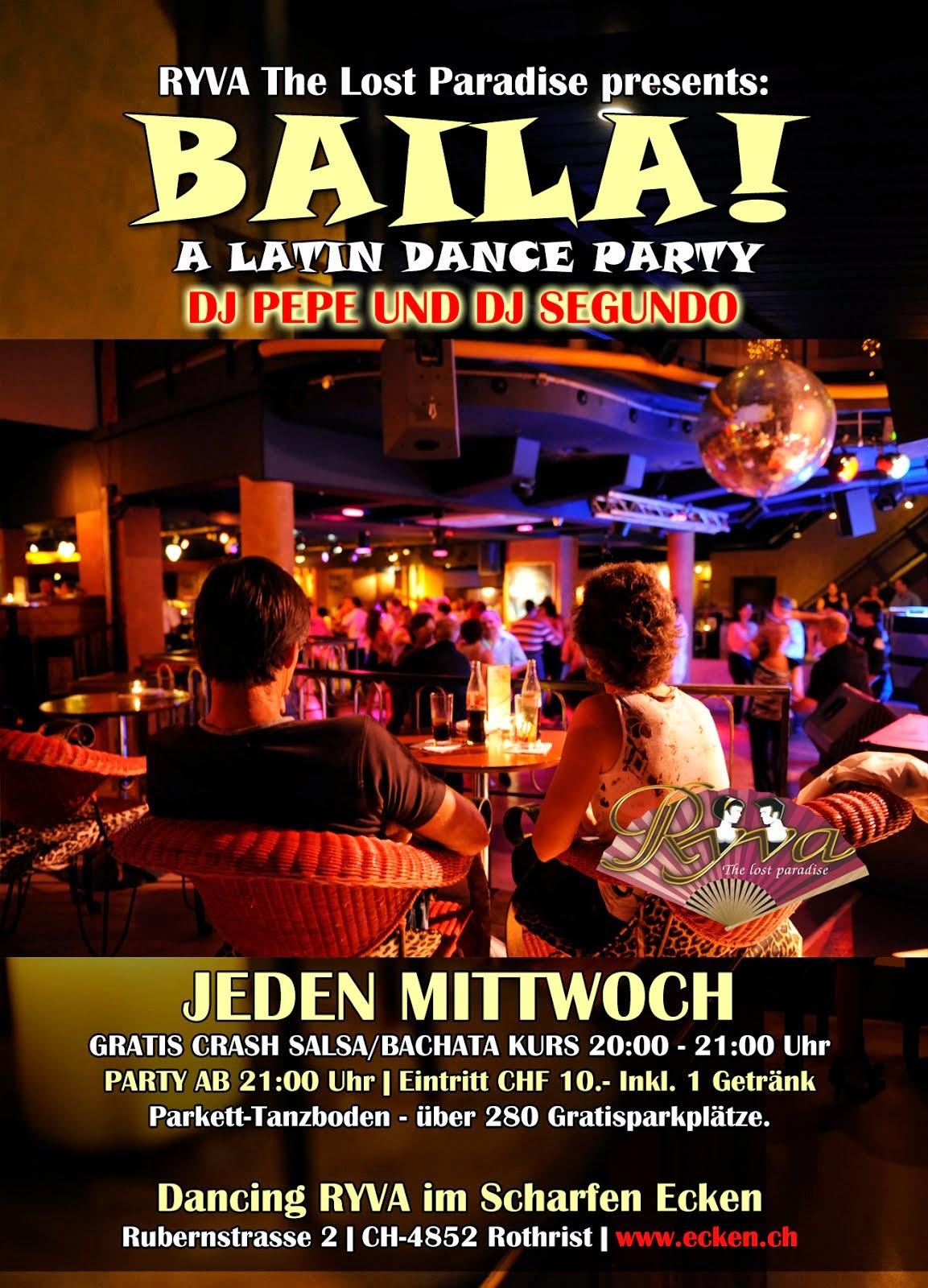 BAILA.- A LATIN DANCE PARTY