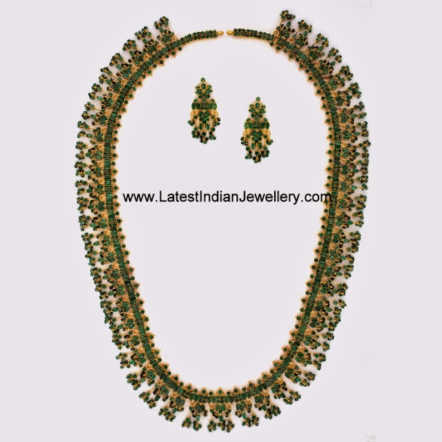 Grand Emerald Jewellery Set