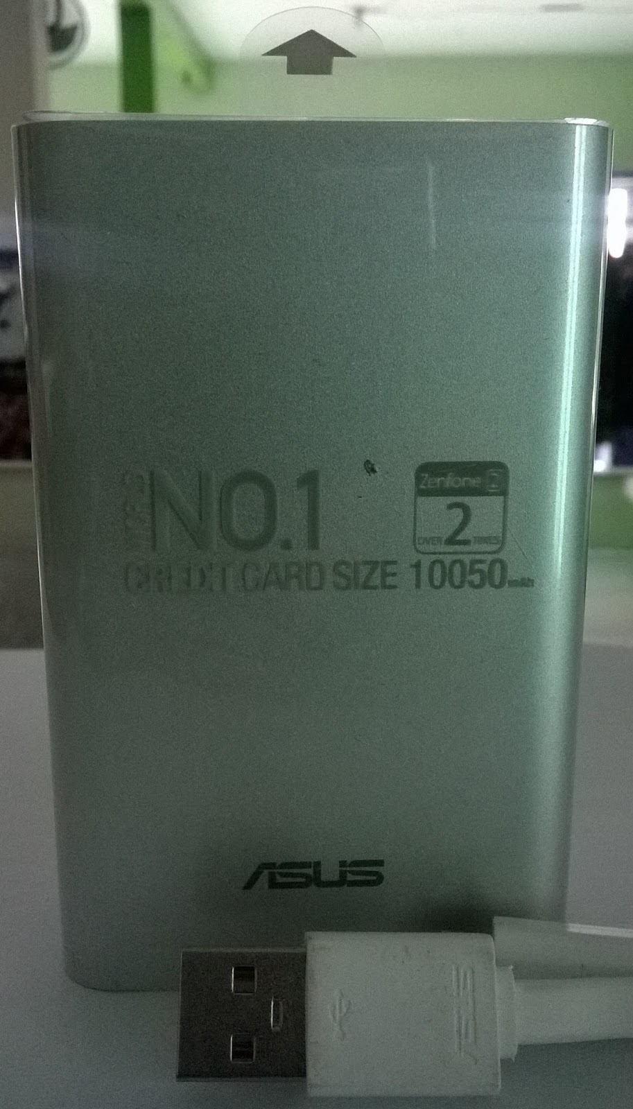 NO. 1 Credit Card Size 10.050mAh