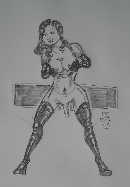 Tgirl art