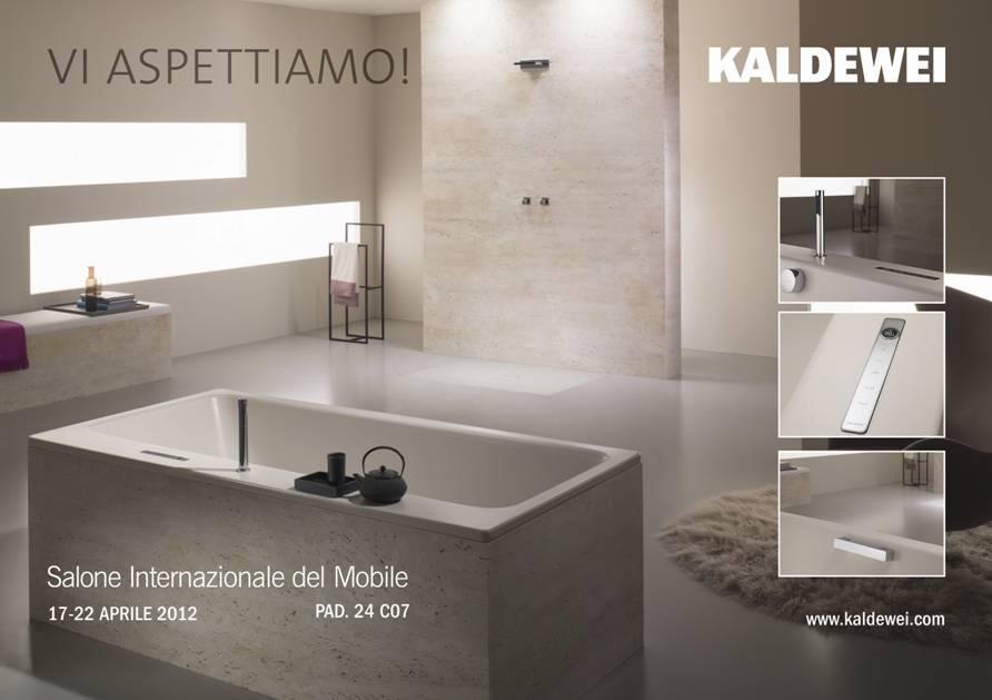 Vasca con comando elettronico kaldewei arredo bagno salone for Arredo bagno semplice