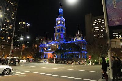 Sydney Vivid Lights Building 2015