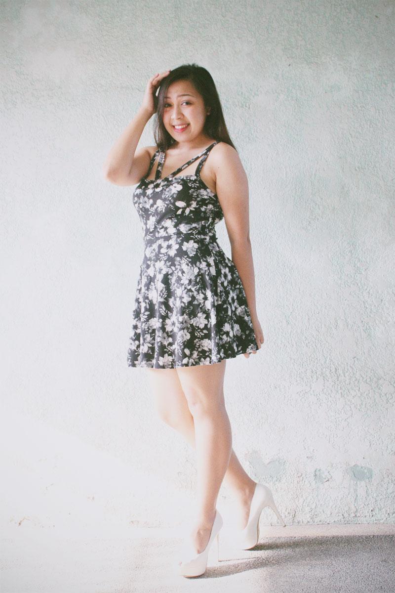 Black Floral Dress Forever 21