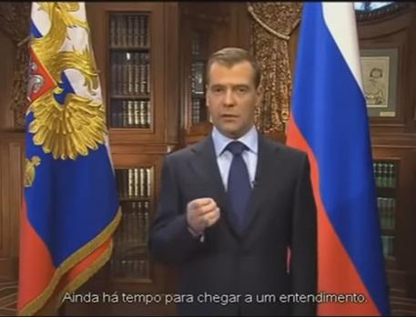"""RUSSIA: """"AINDA HÁ TEMPO DE UM ENTENDIMENTO"""""""