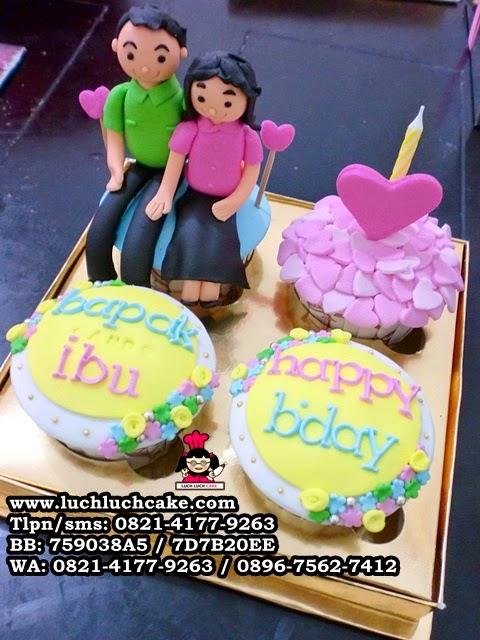 Cupcake Ulang Tahun Untuk Orang Tua Daerah Surabaya - Sidoarjo